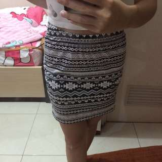 Colorbox Tribal Mini Skirt