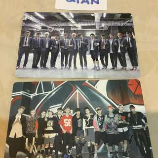 [READY STOCK] EXO GROWL POP UP STORE PHOTOCARD