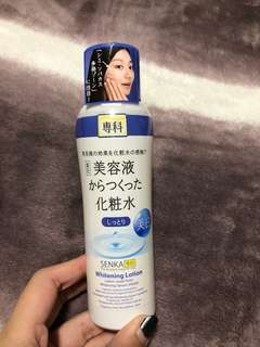 SENKA whitening lotion/ makeup remover