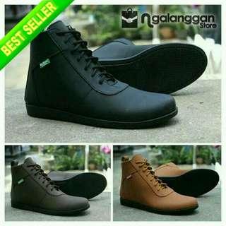 Sepatu Kickers Pria Casual Premium