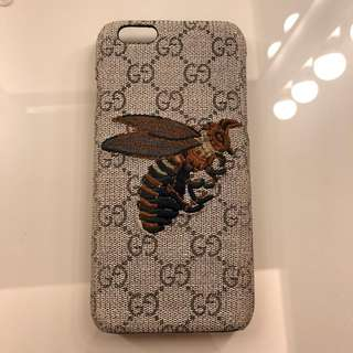 Gucci IPhone 6 / iPhone 6s Phone Case Bee Knit Pattern