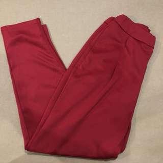 Red Chino Pants