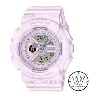 Brand New Casio Baby-G Purplish Pink BA-110-4A2