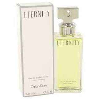 BRAND NEW FREE DELIVERY - CK Eternity for Women 100ml ORIGINAL
