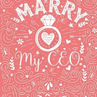 Ebook : Marry My CEO by Fanie Depurple