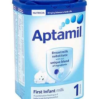 Aptamil First Infant Milk 900g