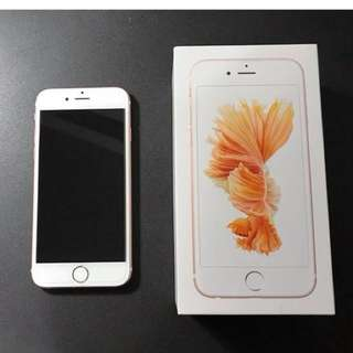 iPhone 6S 64G 4.7吋玫瑰金台積電版-已過保