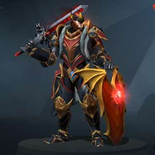 Dota 2 Dragon knight Mix Set