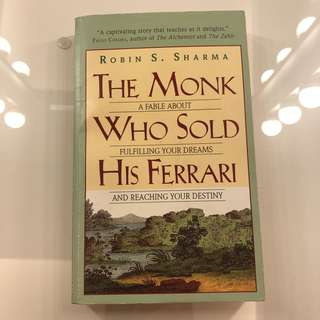 The Monk Who Sold His Ferrari Book by Robin Sharma