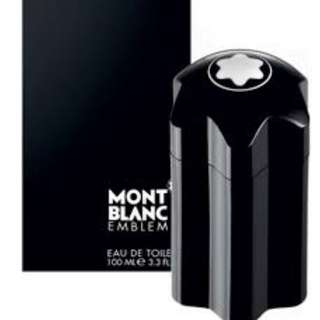 BRAND NEW FREE DELIVERY - Mont Blanc Emblem 100ml - ORIGINAL