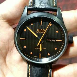 MIDO舵手橙機械男手錶M005.430.36.051.80