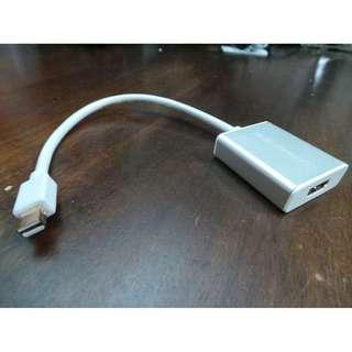 02079 Ugreen Thunderbolt to HDMI adaptor
