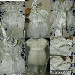 """Christening Dress """"Trajecitos de Bebe'"""