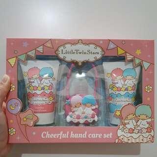 Little Twin Stars Cheerful Hand Care Set