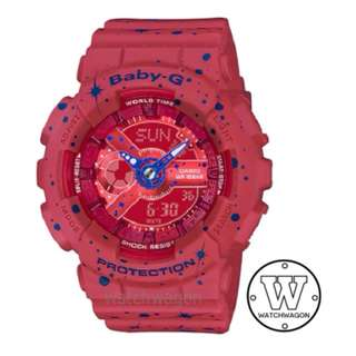Brand New Casio Baby-G Star Series Red  BA-110ST-4A  .     ......   ba-110