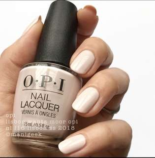 Opi L16 Lisbon Wants Moor OPI