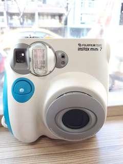 Fujifilm Instax Mini 7 White Polaroid Camera