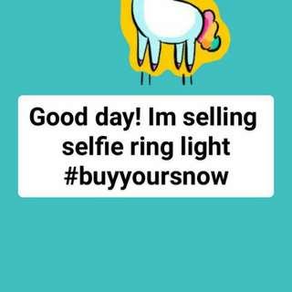 Rechargable Selfie Ring Light
