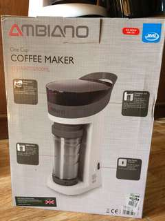 Coffee Maker Coffeemaker Coffee Machine (JML Ambiano)
