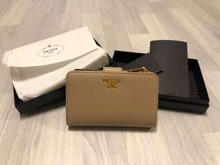Prada Saffiano Leather Wallet 銀包