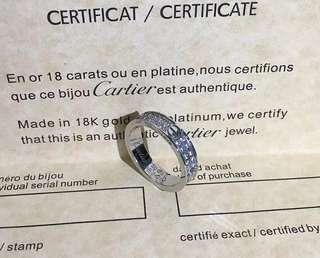 特價 cartier 同款 滿天星戒指 love ring