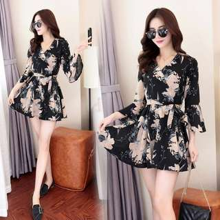[PO] Korea Floral Dress