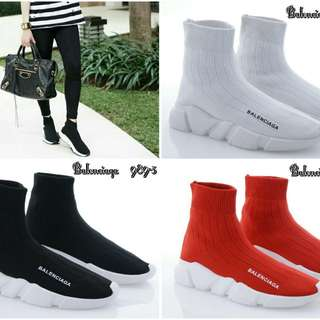 Sepatu Boots Balenciaga  #989-3