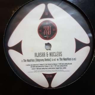 "12""Remix》Alaska & Nucleus - The Nautilus vinyl record"