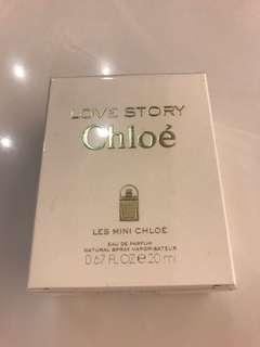 全新正貨 順豐包郵不議價 Chloe mini love story 20ml 香水