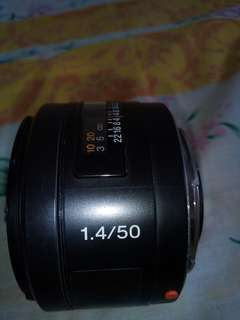 Sony FF lens 50mm F1.4