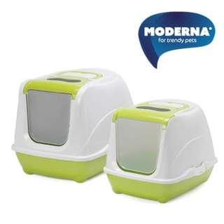Moderna Flip Cat 貓廁所 (Fun Green) - Large (比利時製造)