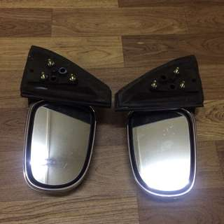 Side Mirror Manual Chrome L7 Kelisa Gino