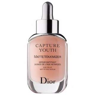 BNIB Dior Capture Youth Matte Maximizer Age-Delay Mattifying Serum