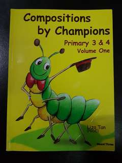 Primary 3 & 4 composition book