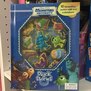 Monster inc busy book