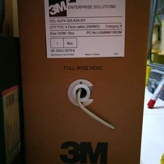 Customize 3M Category 6 Network Cable