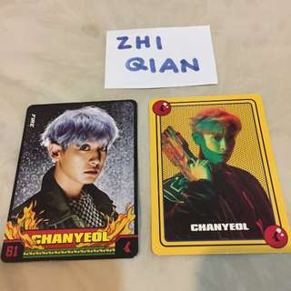 [READY STOCK] EXO POWER MATCHING CARD SET CHANYEOL