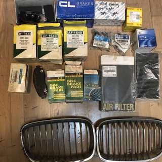 Car Spare Maintainence Parts for sals