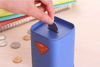 Super Hero Coin Bank
