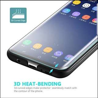 S7 EDGE/S8/S8+/NOTE 8/S9/S9+ TEMPERED GLASS PROTECTOR