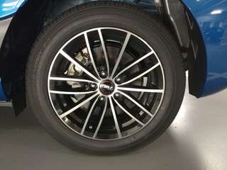"4 pieces of 15"" 5x100 Taiwan rims with Toyo 185/60r15 tyres"