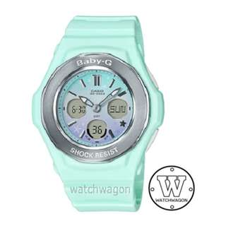 Brand New Casio Baby-G Star Series Pastel Green BGA-100ST-3A  .....   bga-100
