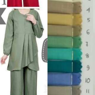 INSTOCK - GHINA BLOUSE - MUSLIMAH COLLECTION
