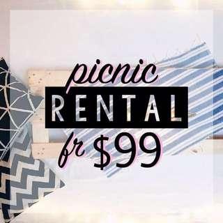 PROMO - Picnic Setup RENTAL