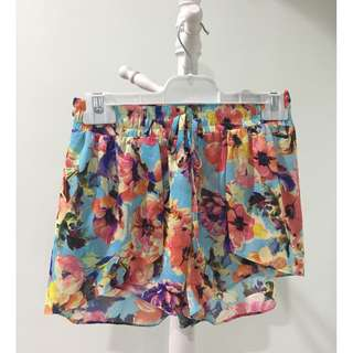Dotti Stretchable Floral Short