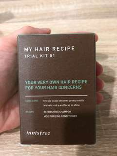 Innisfree My Hair Recipe Trial Kit 01