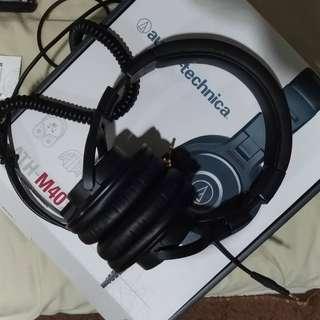 Headphone Audio Technica M40x