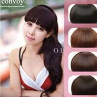Hairband Braided With Front Bangs