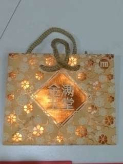 CNY Orange Carrier (Paper Bag)