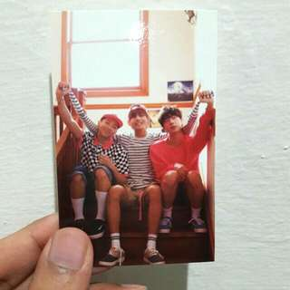 BTS NOW 3 IN CHICAGO (rapmon, v, jin photocard)